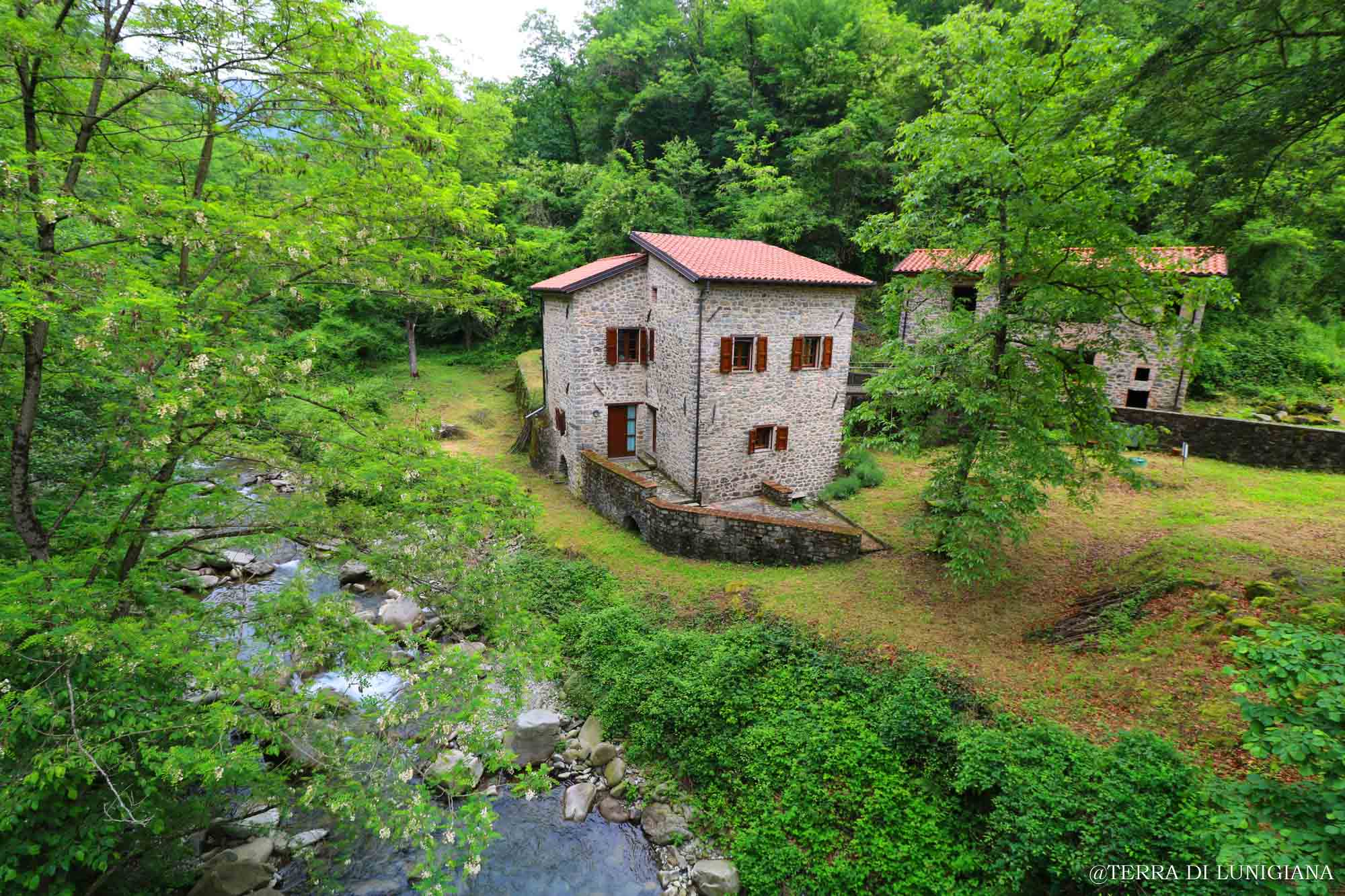 LA MACINA – Fabulous Renovated Stone WaterMill with Stone House and 24000 square meters of land